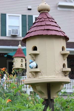 Bernerhof Inn Bed and Breakfast: Cute little birdhouse