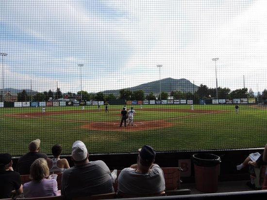 Kindrick Legion Field: Home plate view