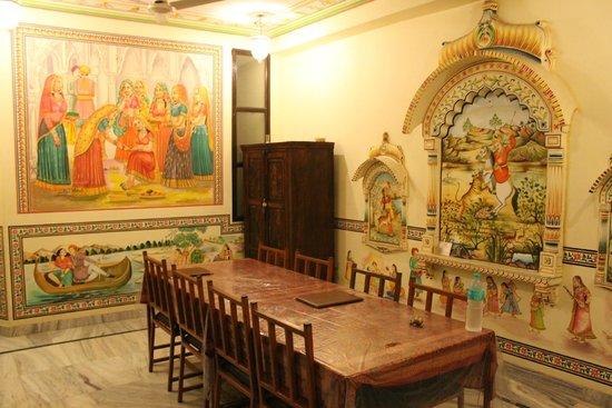 Hotel Baba Haveli: 1st Floor Dining Area