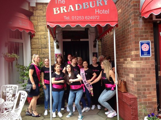 Bradbury Hotel: Tracey's hen party