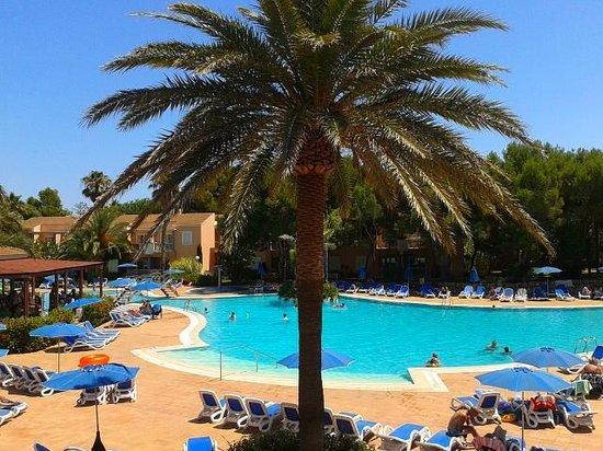 Hotel Apartamentos Princesa Playa: area piscine
