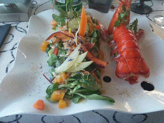 L'Ecume : Salade au homard