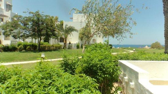 Mercure Hurghada Hotel : vue de notre chambre