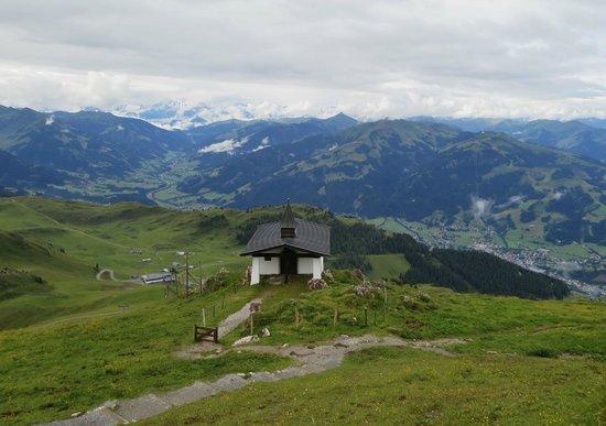 Bergbahn Kitzbühel: View from Kitzbuheler Horn