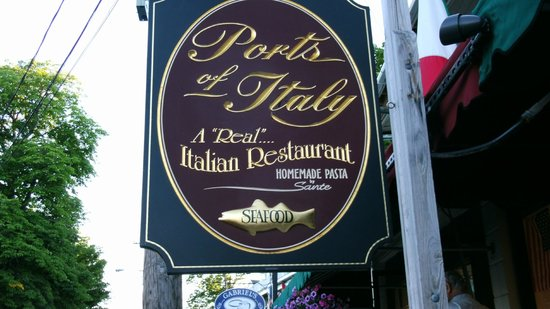 Ports of Italy: Sign