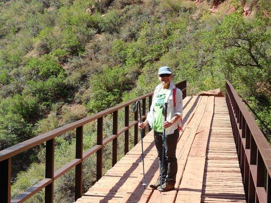 Grand Canyon North Rim: The Bridge on the North Kiabab