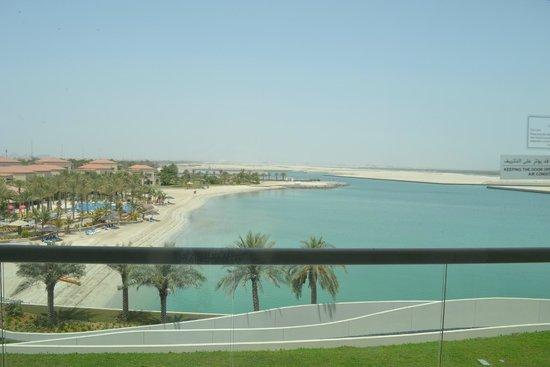 Al Raha Beach Hotel: View from room