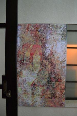 Al Raha Beach Hotel: Painting in the room