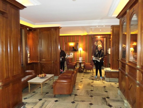 BEST WESTERN PREMIER Trocadero La Tour : Lobby