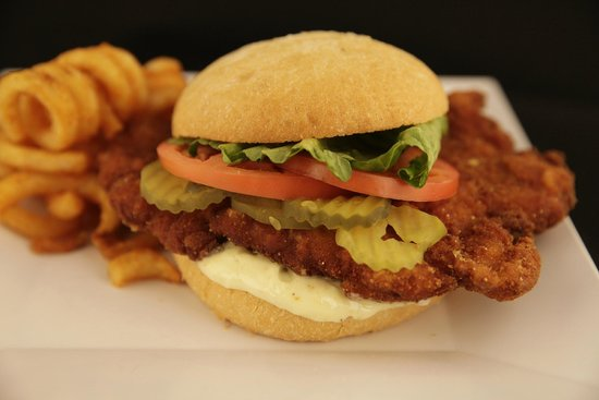 Caribbean Saloon : Pork Sandwich