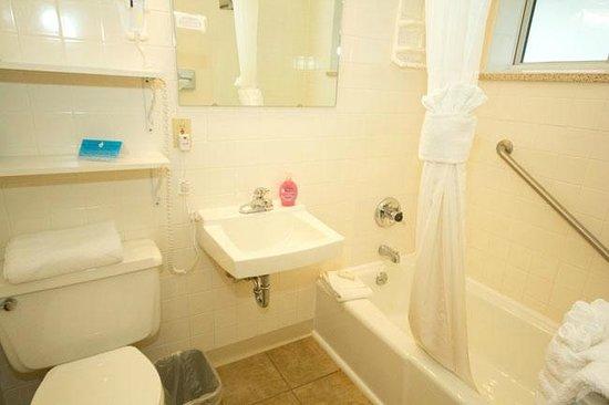 Alpine Trail Ridge Inn: Small bath, but kept very clean