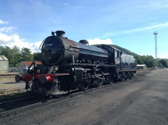 Braeside House : The Harry Potter Train. Or if you want to be picky the Jacobite steam train! :)