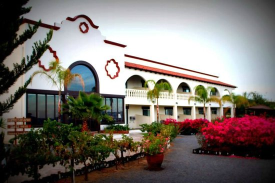 Hacienda Guadalupe Hotel: Front of Hotel