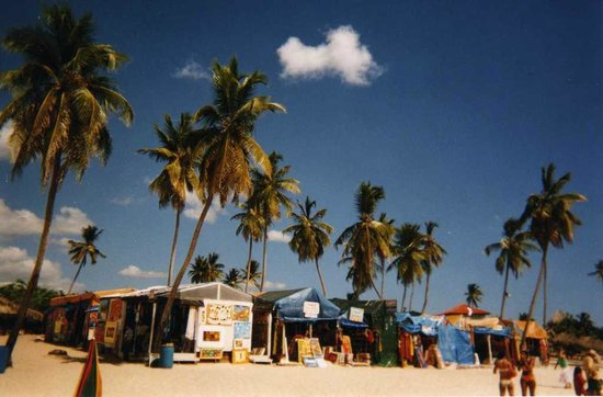 Public beach of Dominicus at Bayahibe: Bayahibe