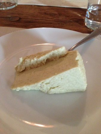 Club Culinario Toscano da Osvaldo : Sage Bavarian cake