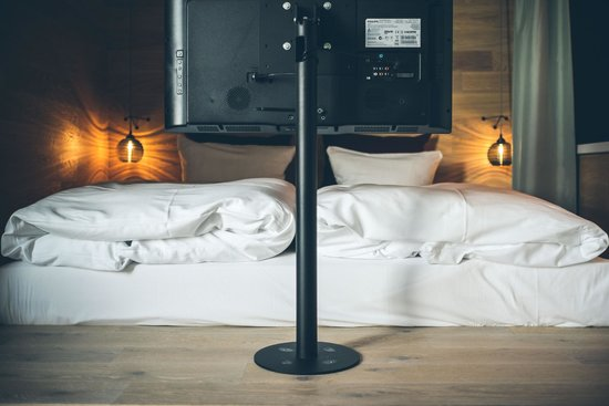 25hours Hotel Bikini Berlin: Beds come with twin duvets to avoid hogging!