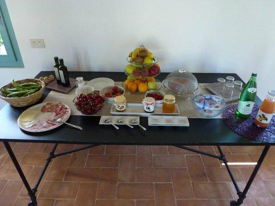 Bio Agriturismo Fattoria Fontegeloni: das tolle Frühstück