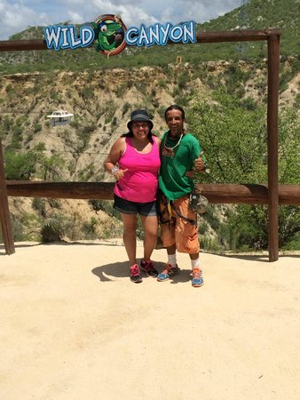 Wild Canyon Adventures: Gus you are the best!!