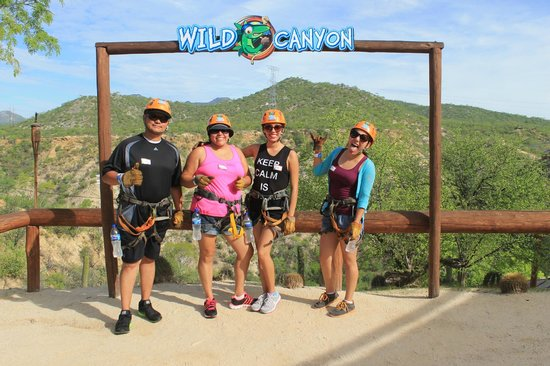 Wild Canyon Adventures: Just arriving!