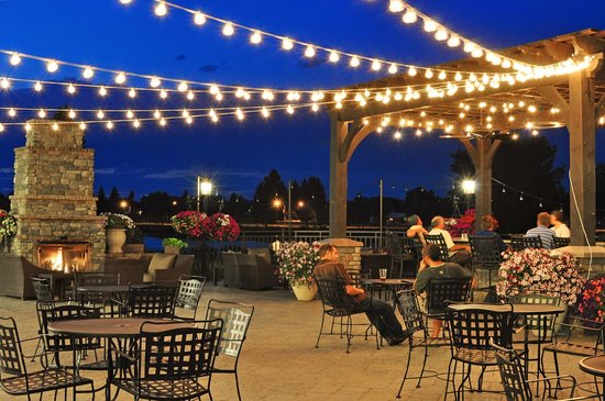 Hilton Garden Inn Idaho Falls: Patio Bar