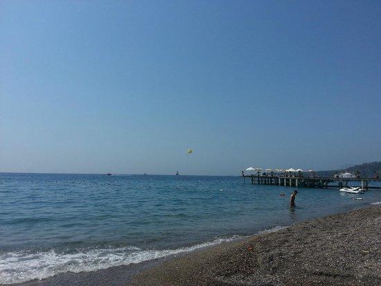 Sultan's Beach Hotel : море