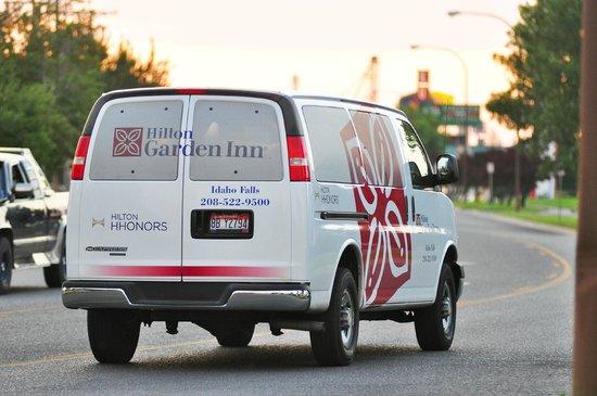 Hilton Garden Inn Idaho Falls: Complimentary Shuttle Service