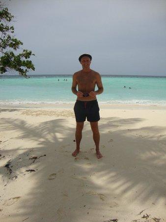 Arena Lodge Maldives: Пляж