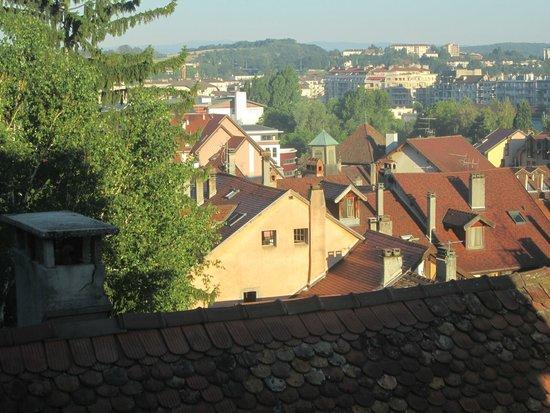 Hôtel du Château: Vista desde la habitación