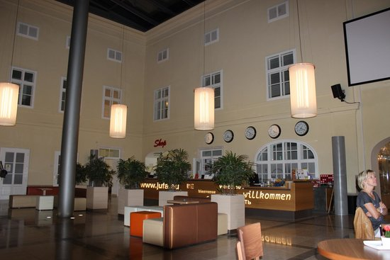 JUFA Hotel Wien City: Reception lounge