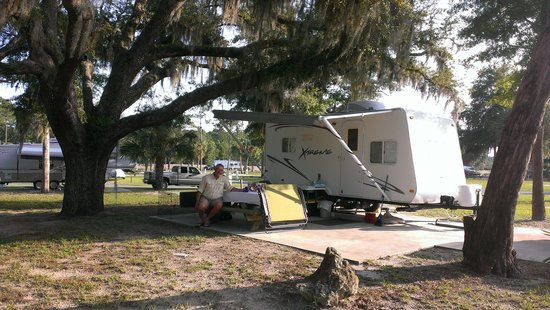 Cedar Key RV Resort : NIce RV Site