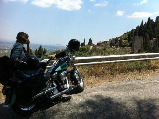 Arriving at Mystras