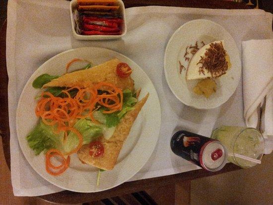 Sheraton Sao Paulo WTC Hotel: comida a la habitación... recomendable
