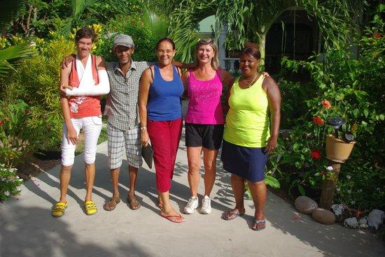 Coco Bay Villa : la fine equipe