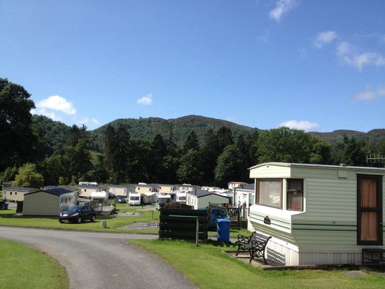 Faskally Caravan Park: Stunning place great fun