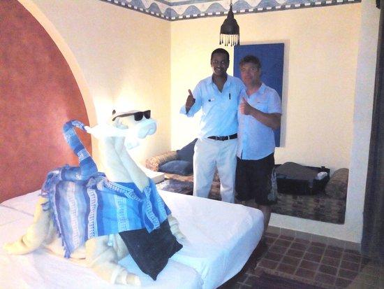 Marina Lodge at Port Ghalib: Petite surprise pour notre départ