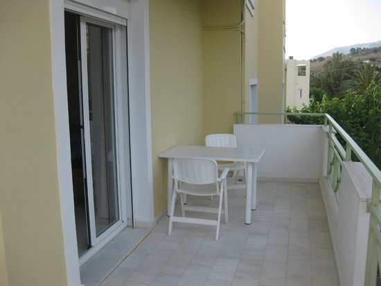 Athena Hotel: Our balcony