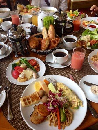 Sofitel Saigon Plaza : 朝食