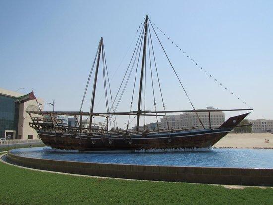 Ramada Jumeirah : Replica Trading Ship
