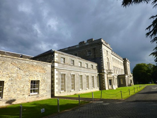 Carton House Hotel & Golf Club: Carton House basking in late afternoon sun with rain looming
