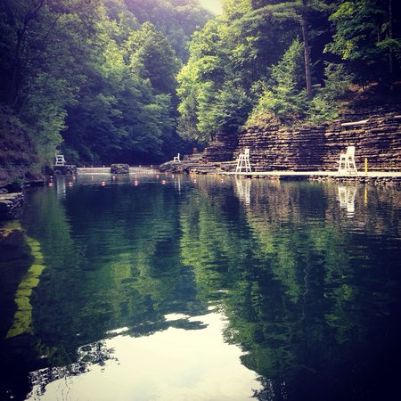 Stony Brook State Park: Natural swimming pool. #fabulous