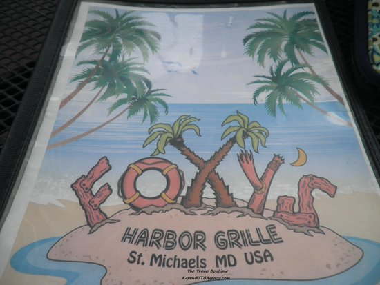 Foxy's Harbor Grille: Foxy's at St. Michaels