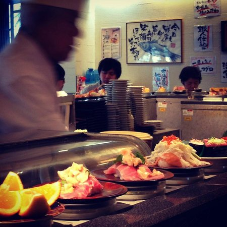 Travelience: Delicious Sushi!