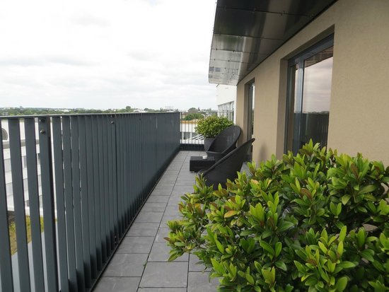 The George Hotel: Balkon