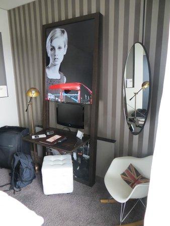 The George Hotel: Schlafzimmer S mit Alsterblick