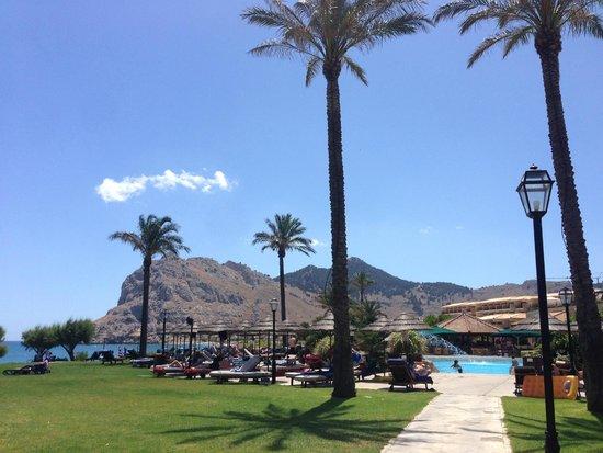 Atlantica Imperial Resort & Spa: Mountain view