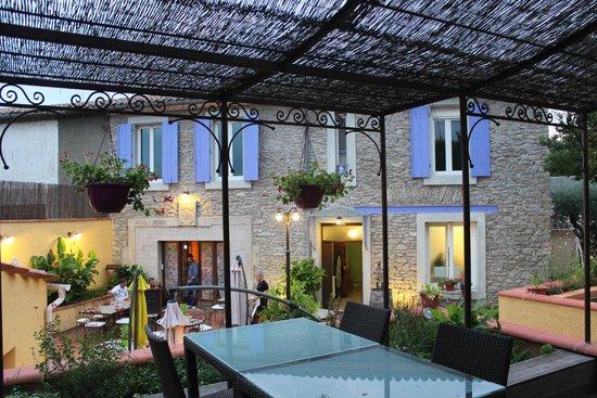 Les Jardins de l'Estagnol: Terrasse