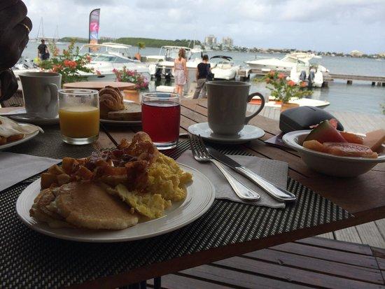 Mercure Saint-Martin Marina & Spa: Petit-déjeuner