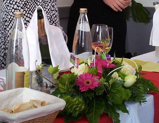 Bertrand Roy Restaurant : Repas convivial