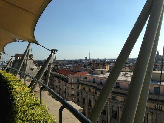 Bar sulla terrazza - Foto di Hotel Dei Cavalieri, Milano - TripAdvisor
