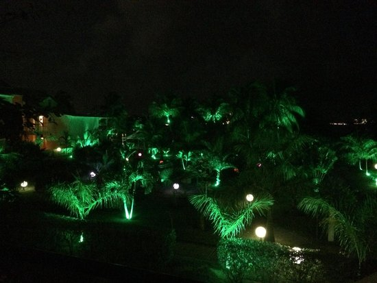 Hôtel Mercure Saint-Martin Marina & Spa : vendredi soir - balcon